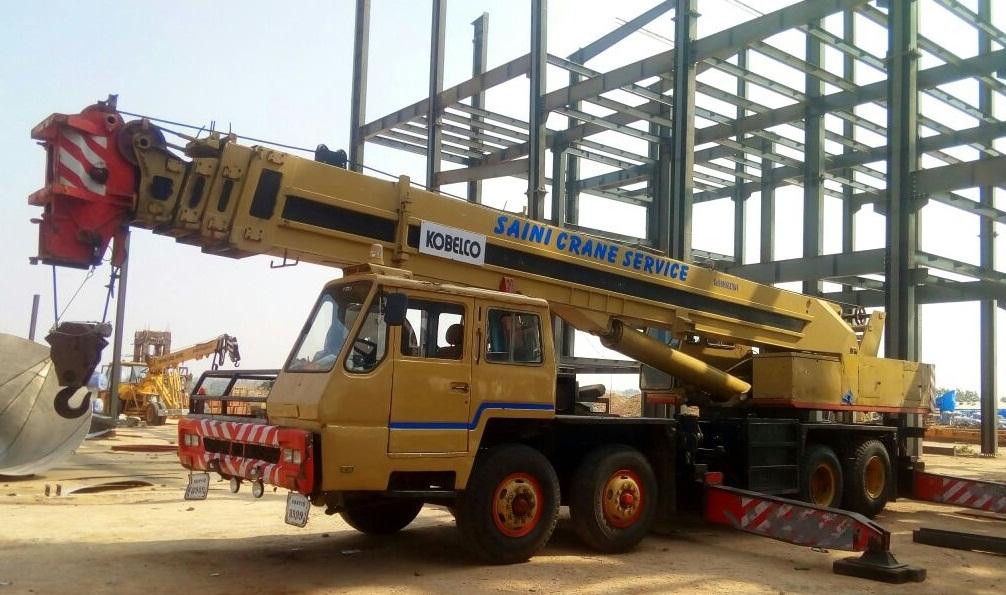 Service Provider of Hydraulic Cranes Service Providers Hyderabad Telangana